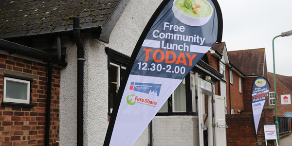 Tenterden Community Hub soup lunches start