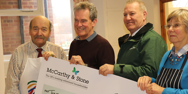 Donation from McCarthy and Stone